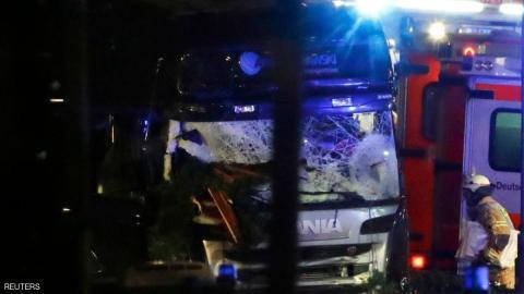 """ألمانيا: المشتبه بتنفيذه """"هجوم برلين"""" الدامي"""