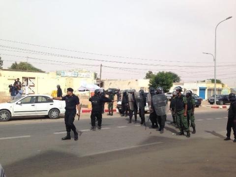 نواكشوط: انتشار أمني تحسبا لتظاهرات اليوم