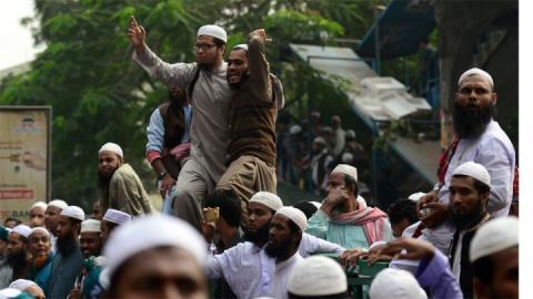 بنغلادش تمنع لآلاف من الاسلاميين كانوا يستعدون للتوجه الى الحدود مع بورما؟