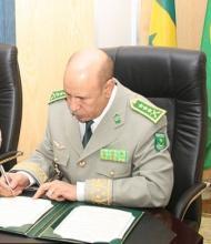 اكتتاب دفعة جديدة من الضباط الجيش الوطني الموريتاني