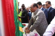 ولد عبد العزيز يعود إلى نواكشوط قادما من مدينة تامشكط