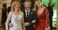 فستان والدة ميسي بحفل زفافه يصدم الجميع ومشابها لفستان العروس أنتونيلا