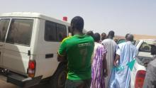 إصابة موريتانيين وأجانب في حادث سير على طريق روصو(تفاصيل)